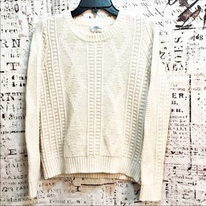 Wallace Madewell Merino Wool Diamond Knit Sweater